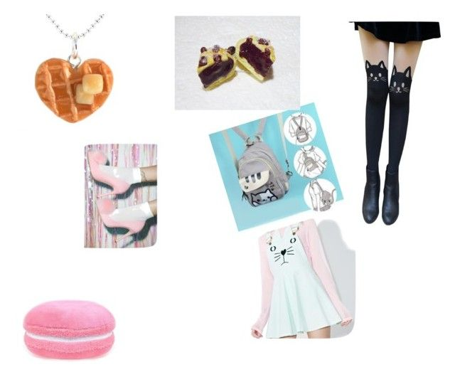 """normal chess outfit"" by amber-woodward on Polyvore featuring Macaron Hombeth"