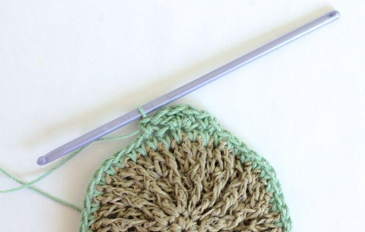 Crocheted Hemp Scrubbies - Free Pattern | Pinterest