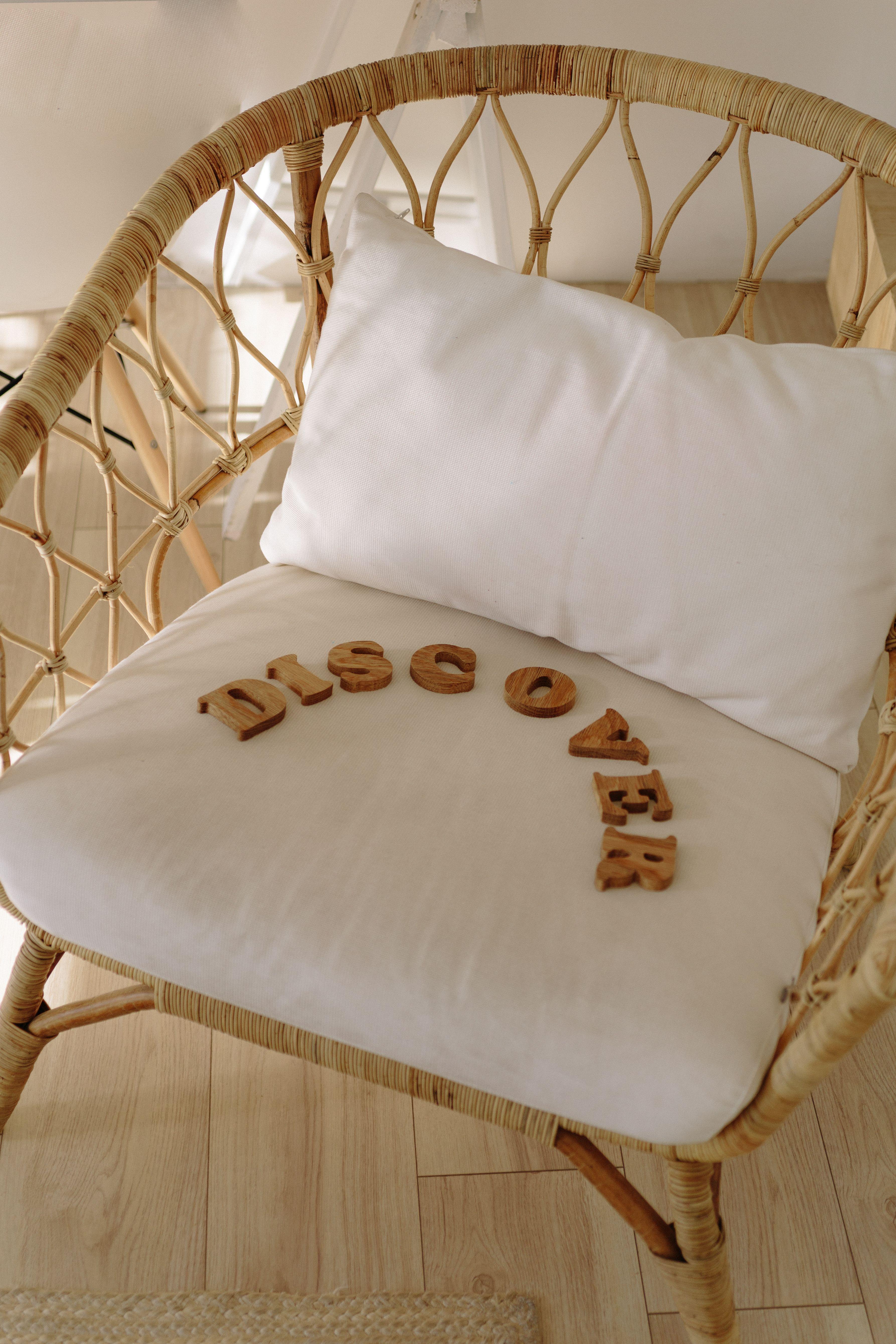 13++ Wooden letter blocks decor trends