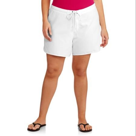 Catalina Women's Plus-Size Swim Cover-Up Boardshorts