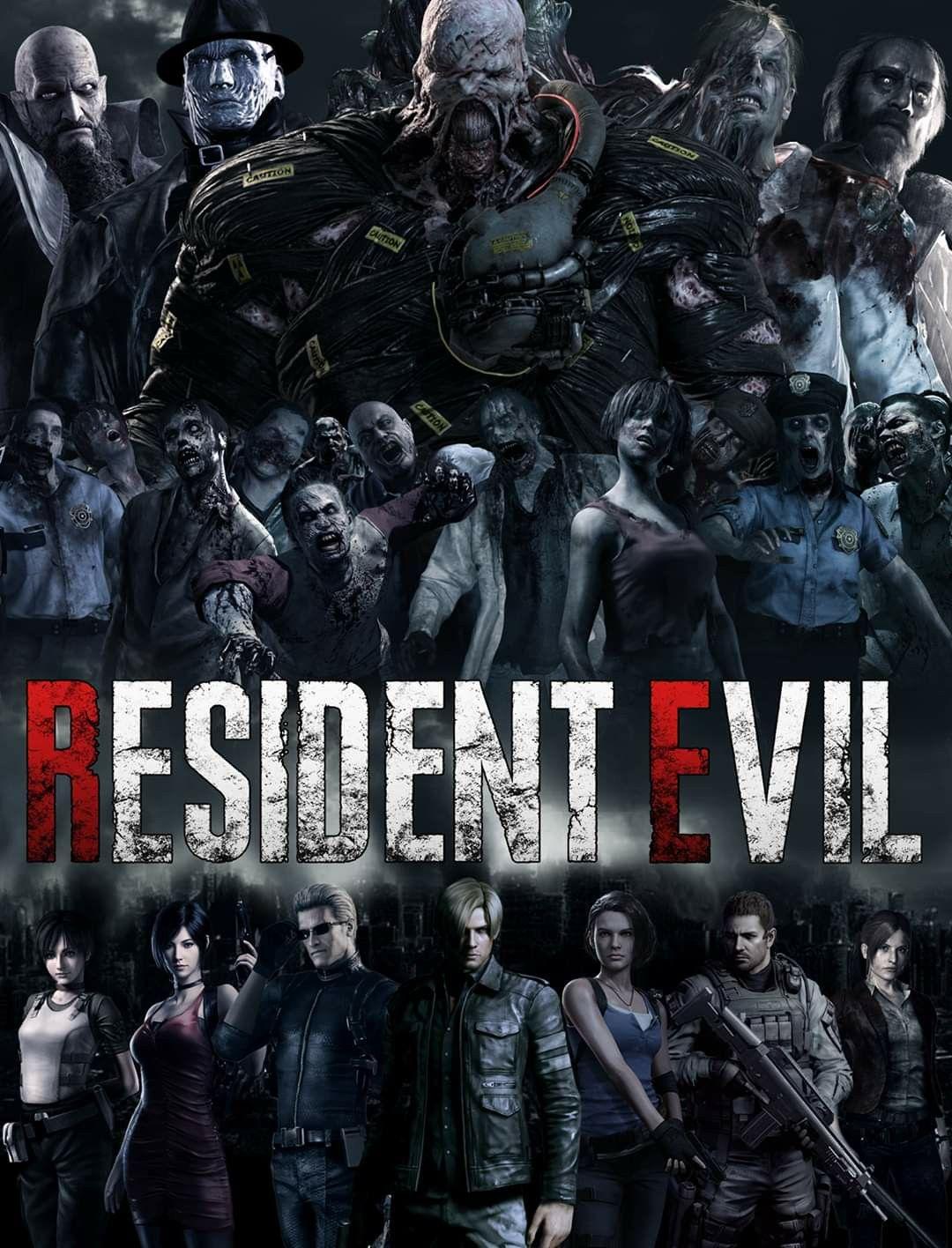 Pin on Resident Evil