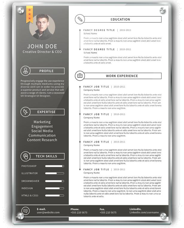 Urban Planning Resume: Simple Resume 3 By Khaledzz9 On DeviantArt