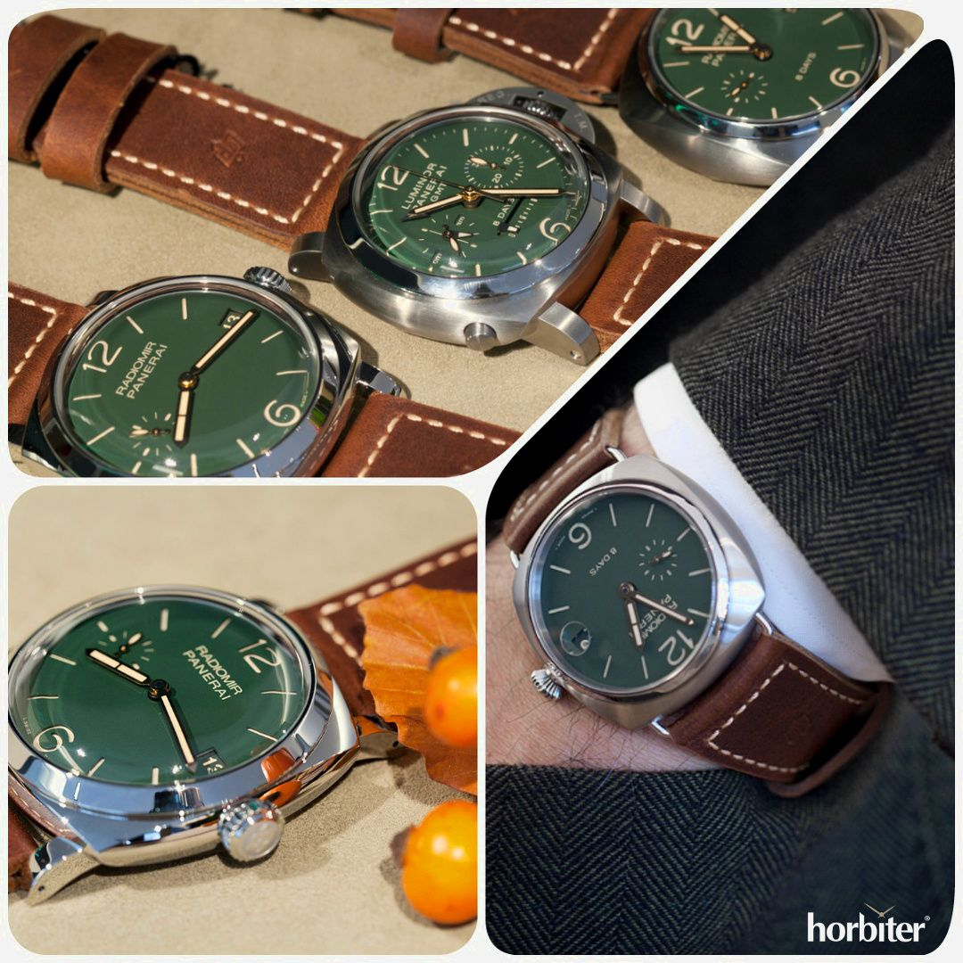 0b6f089e216 PANERAI Green Dial PAM 735-736-737 Boutique Edition - The Green PANERAI  that are getting collectors crazy already the world over
