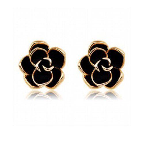 Cool Fleur Boucles d/'Oreilles Argent Sterling