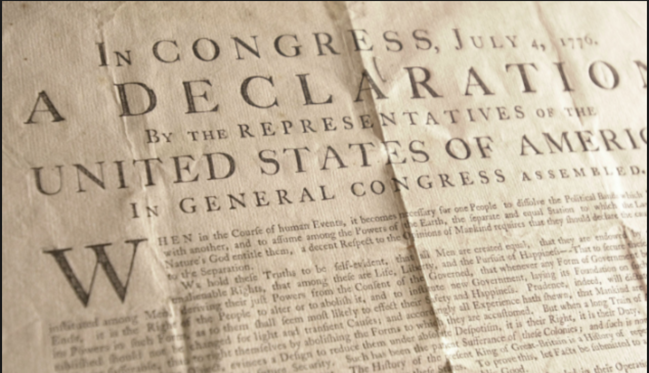 The Declaration Of Independence Was Printed In Caslon Type Face It Was One Of The O Declaration Of Independence Quotes July Quotes Declaration Of Independence