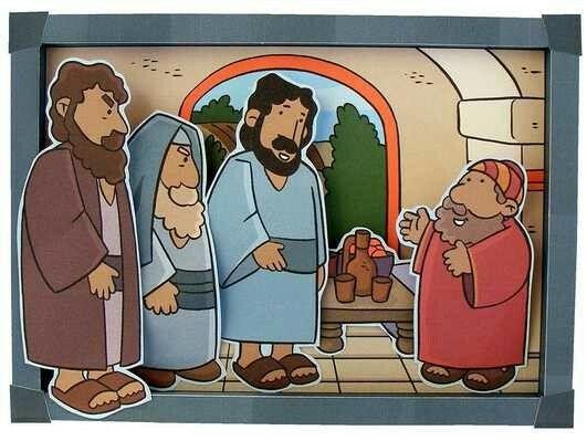 Jesus y Zaqueo  marionetas preescolar  Pinterest  Jesus