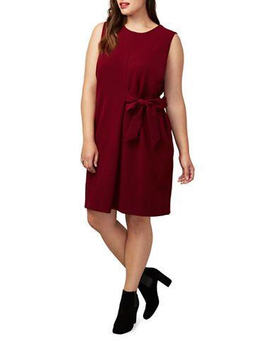 fac829609e7 Rachel Rachel Roy Plus Plus Althea Sleeveless Shift Dress Women s Pino