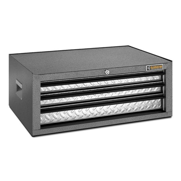 Gladiator Premier 10-in X 26-in 3-Drawer Steel Tool Chest