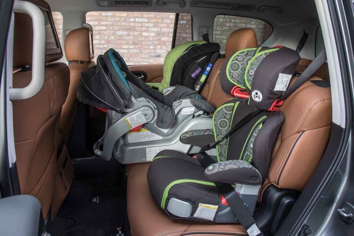 Which Cars Fit Three Car Seats? Car seats, Best luxury