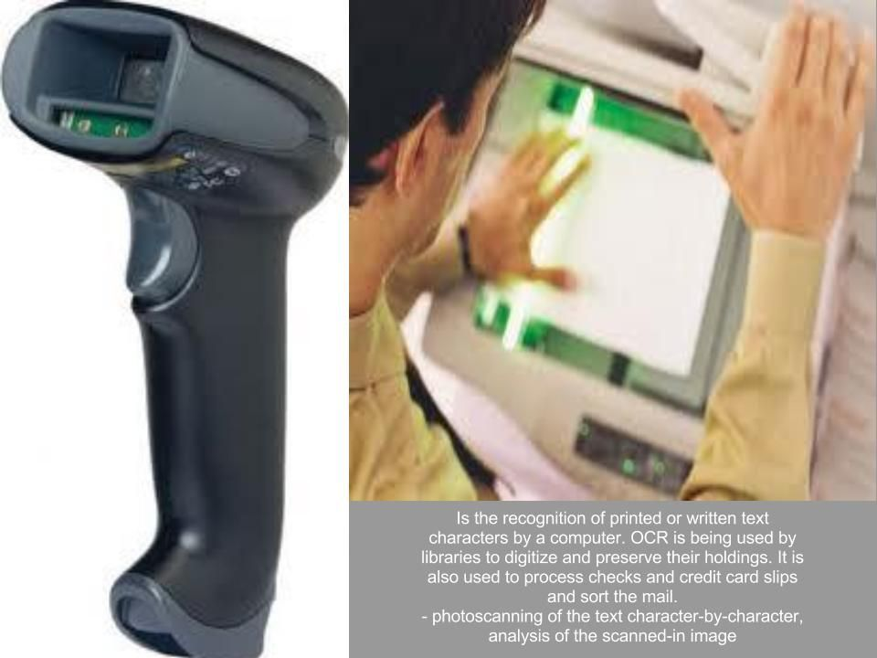 Scanners Credit card slip, Recognition, Scanners