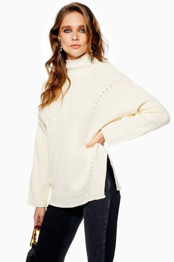 f26a28725c181f Topshop Roll Neck Jumper   Products   Roll neck jumpers, Jumper ...