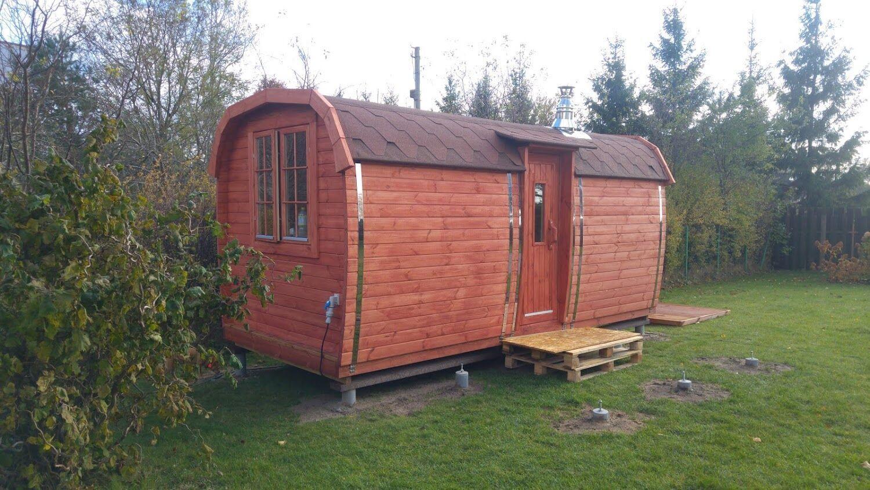 Campingpod L480cm in 2020 Saunafass, Holzhaus, Ruheraum