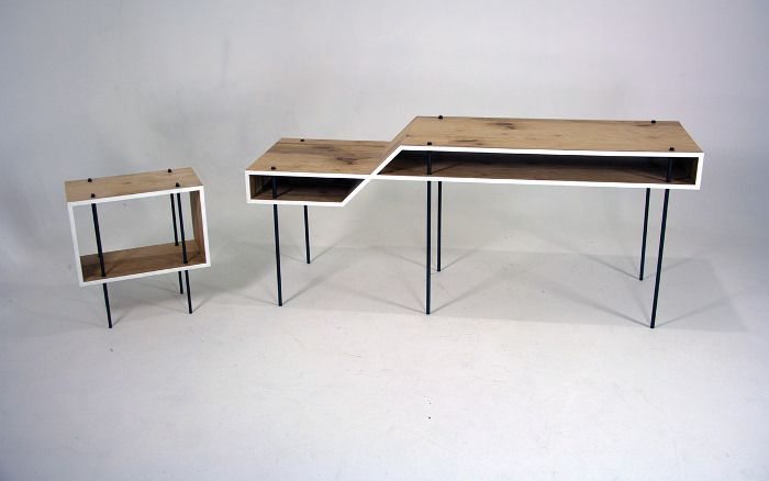 Bureau minimaliste fig desk par steven berkas ideas