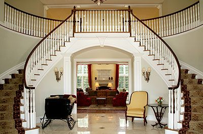 Beautiful Staircase Provides A Dramatic Entrance Grand