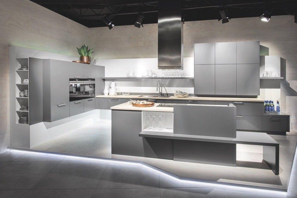 Lava Grey satin lacquer kitchen Kitchen ideas Pinterest Lava