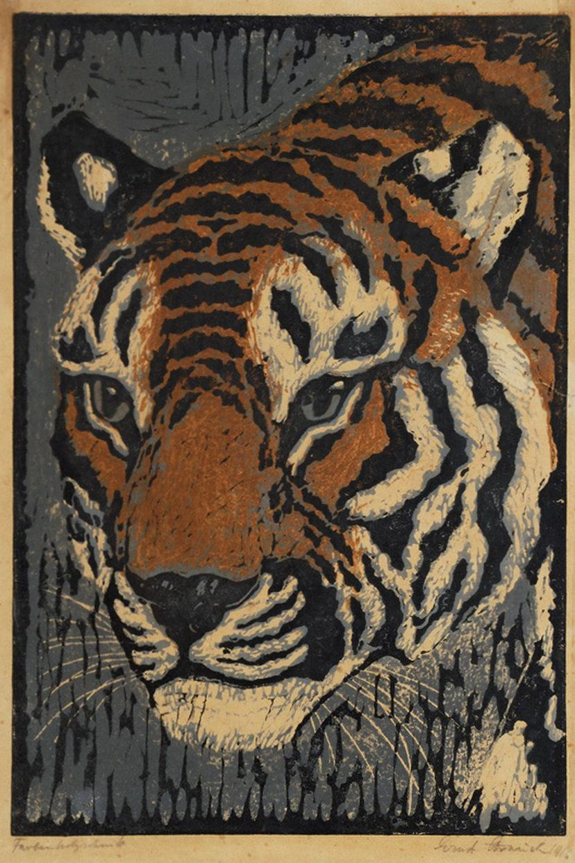 The Linosaurus: NOID 12: Tiger head