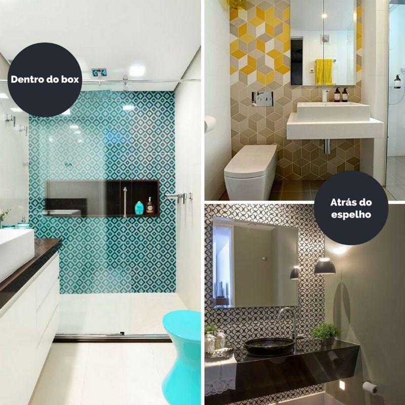 Papel De Parede No Banheiro Papel De Parede Banheiro Papeis De