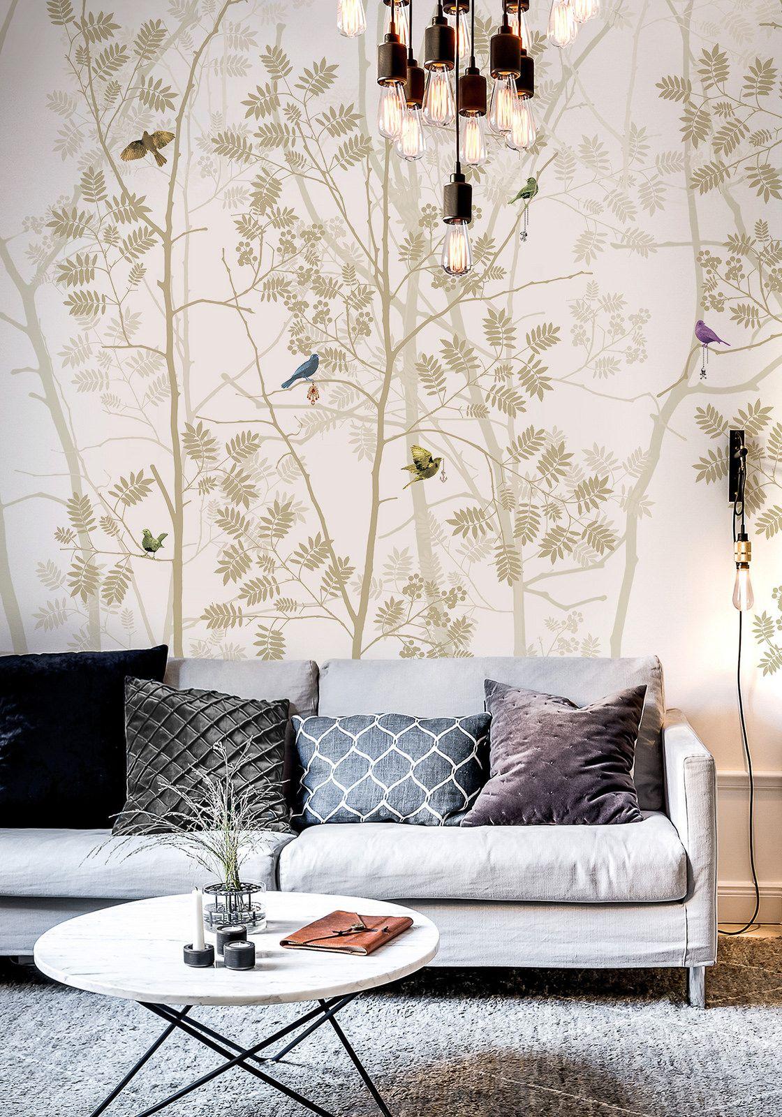 Madame De Pompadour Wallpaper By Scandinavian Surface