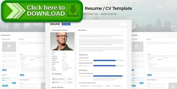 Free nulled MotiCV - Resume \/ CV HTML5 Template download Resume - bootstrap resume template