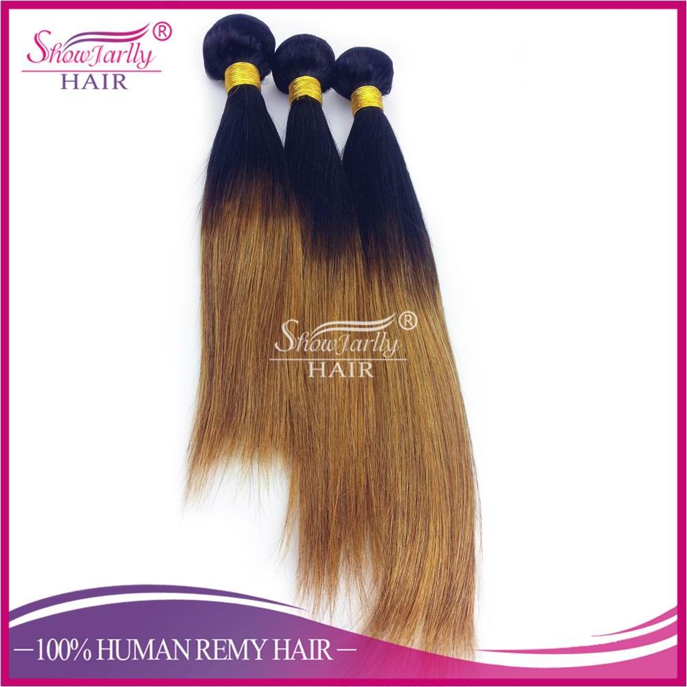 Straight Full Lace w/ Side Part 180 Density Color 1B/30