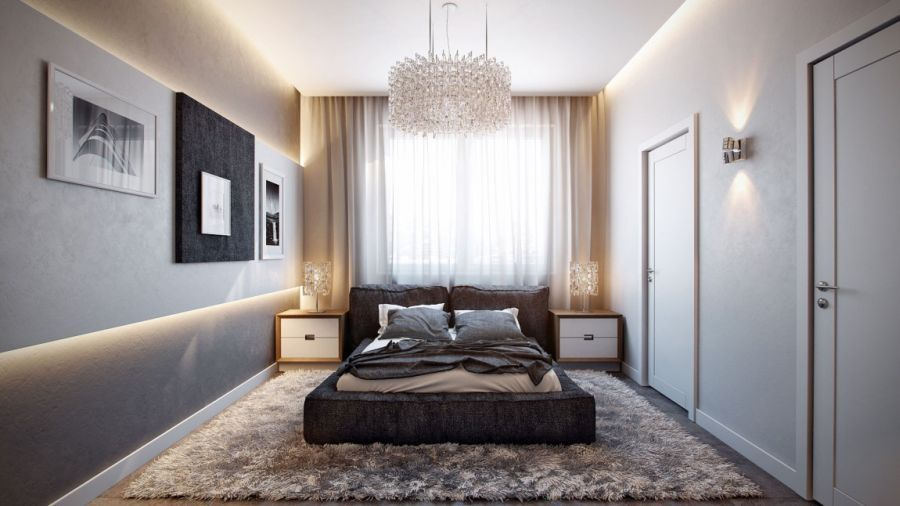 Contemporary German Apartment Design Showcases A Stunning Interior Modern Minimalist Bedroom Minimalist Bedroom Design Apartment Interior Design