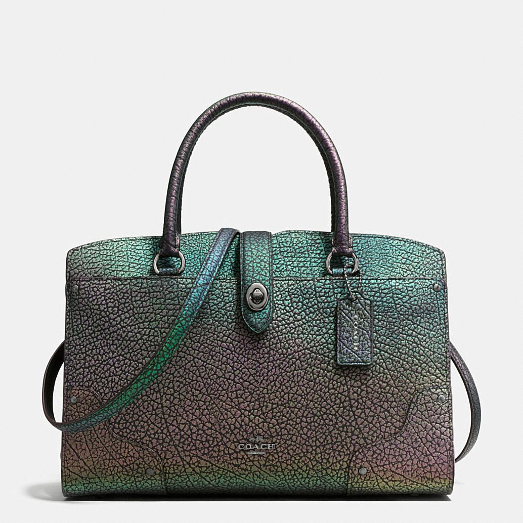 cf5178e88 Shop The COACH Mercer Satchel 30 In Hologram Leather. Enjoy Complimentary  Shipping & Returns! Find Designer Bags, Wallets, Shoes & More At COACH.com!