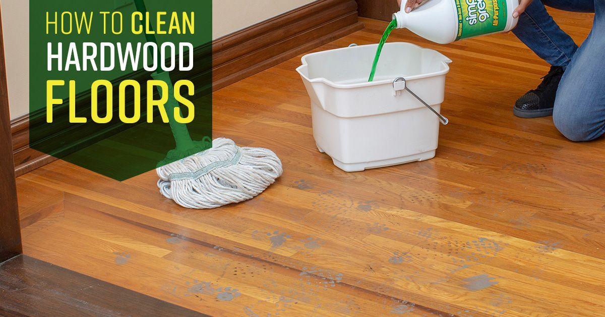 How to Clean Hardwood Floors Cleaning wood floors