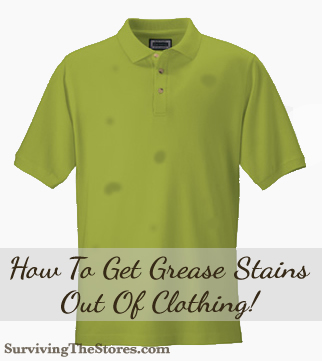 How To Get Rid Of Oily Stain On Clothes