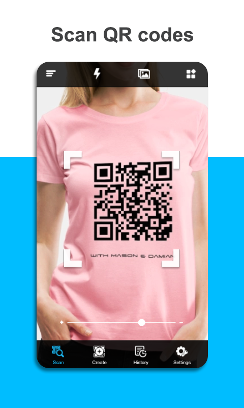 QR Code scanner app Download Now! Barcode scanner app design