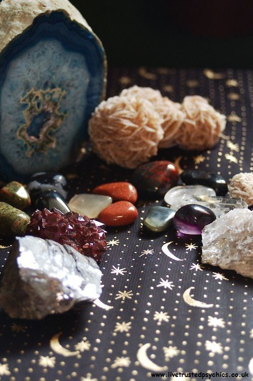 Crystals <3 www.livetrustedpsychics.co.uk