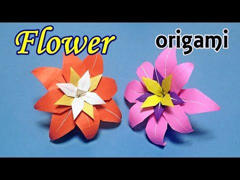 How to make a beautiful origami flower easy to do origami for how to make a beautiful origami flower easy to do origami for beginners step by mightylinksfo