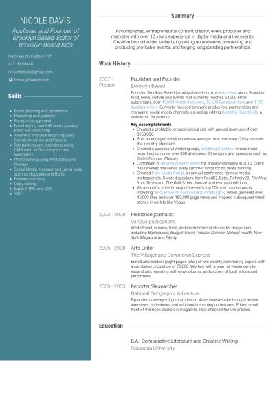 E Publishing Resume Format Resume Format Best Resume Format Resume Templates
