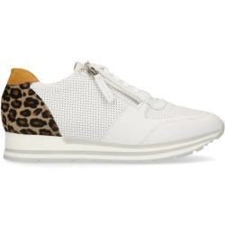 Weiße Sneaker mit Leo-Detail (36,37,38,39,40,41,42) ManfieldManfield