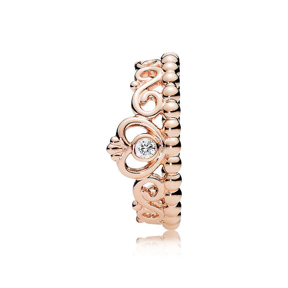 pandora anillo tiara princesa