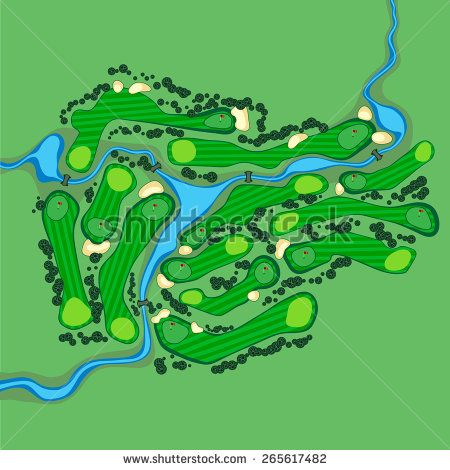 21+ Australian golf club course map info