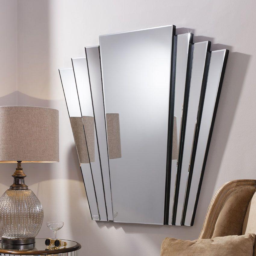 Gallery Direct Gatsby 100x100cm Wall Mirror