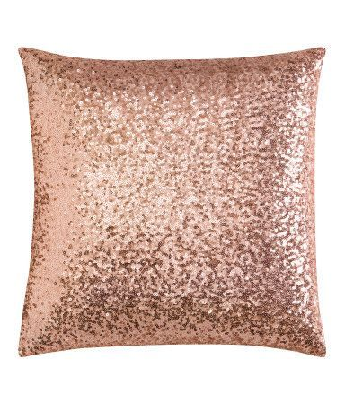 pink sequin cushion cover h m bedroom ideas pinterest pink sequin bedrooms and room. Black Bedroom Furniture Sets. Home Design Ideas