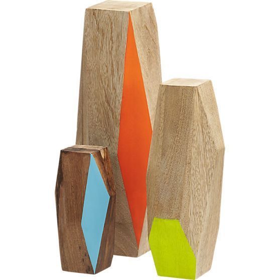 Geo mango wood