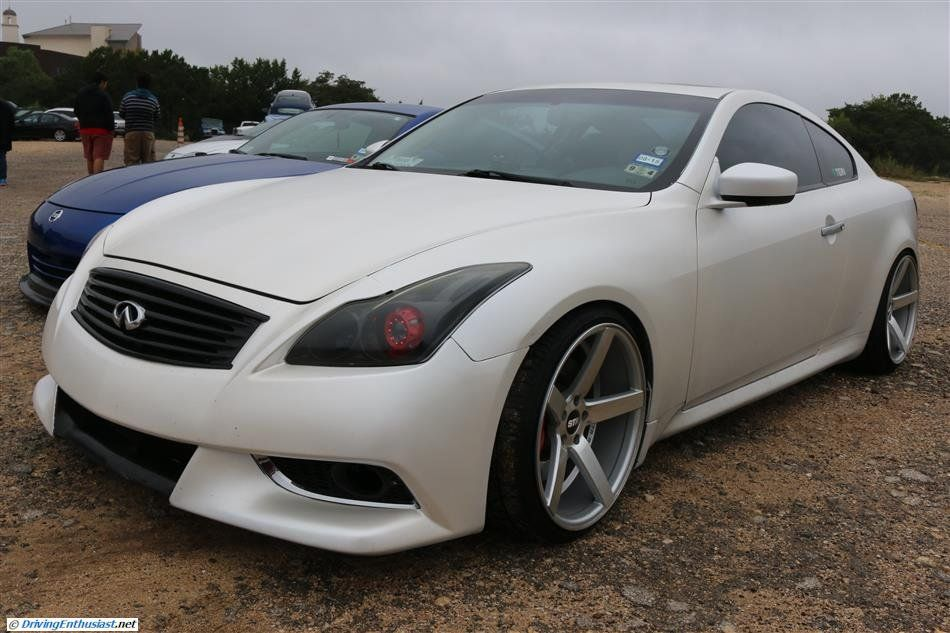 Infiniti G37 Coupe As Seen At The September 2014 Cars And Coffee