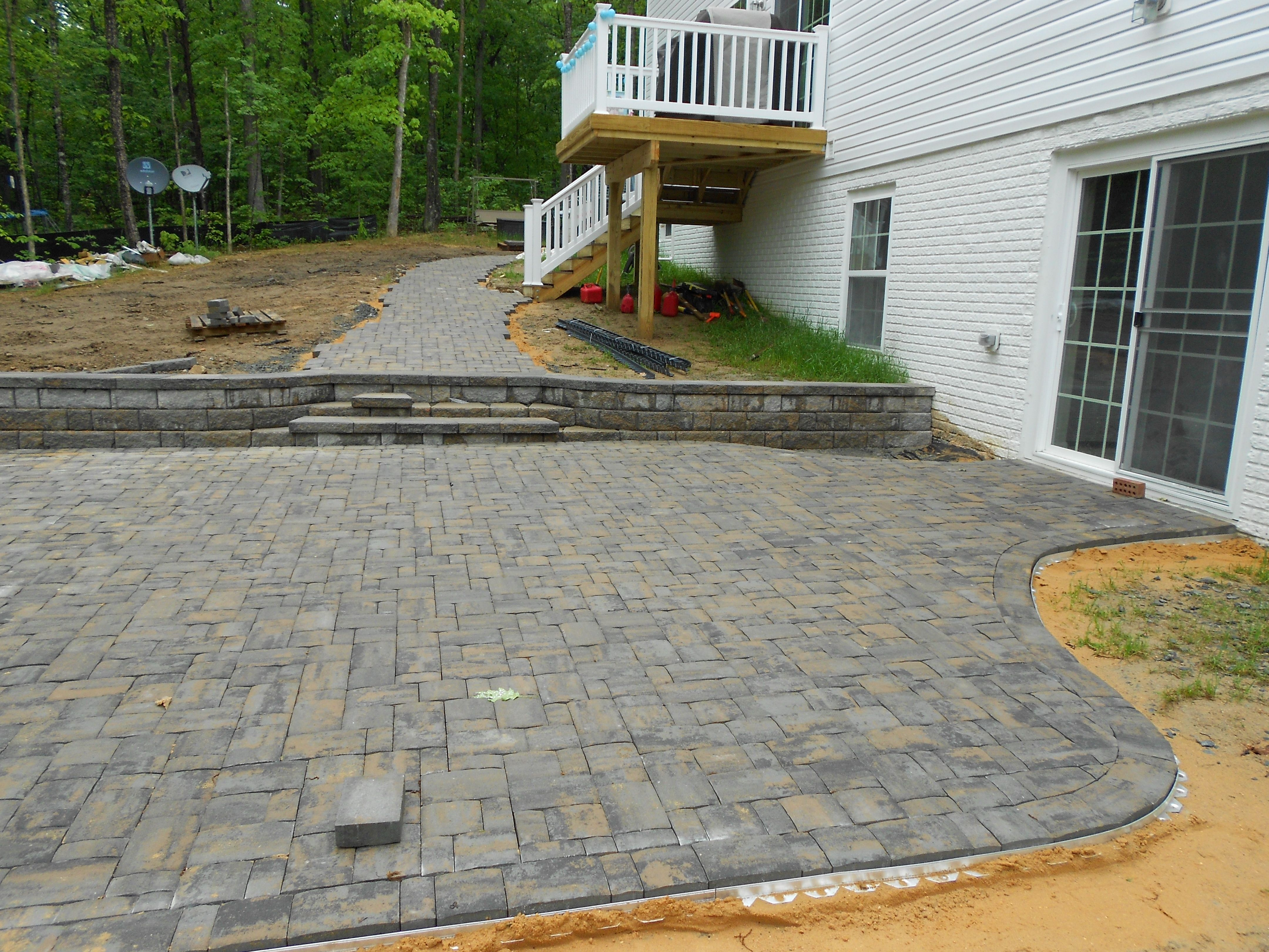 the fascinating clay paver patio design ideas wallpapers design
