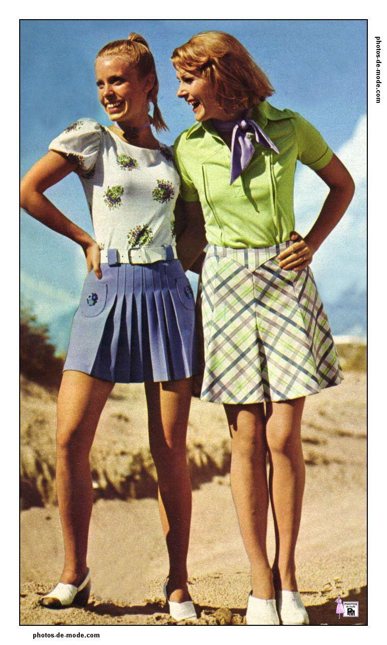 ann es 70 1973 nostalgiaa retro mode mode femme et. Black Bedroom Furniture Sets. Home Design Ideas