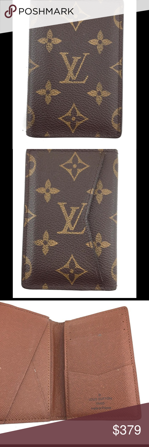 Authentic Louis Vuitton Card Holder in EUC nice! Great item for any ...