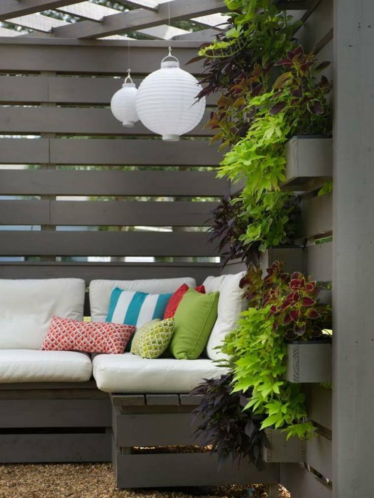 Jardinière en palette de bois : 74 modèles à faire soi-même ...