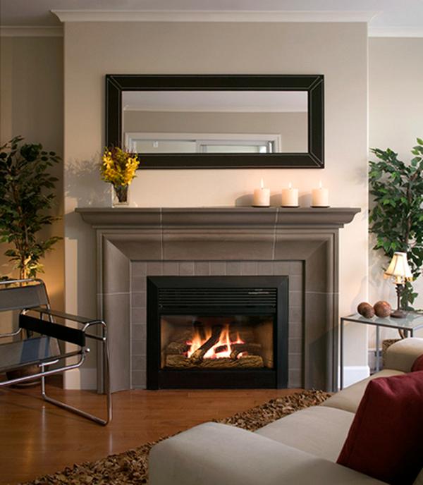 ten exciting fireplace mantel decoration ideas revedecor remodel rh pinterest ca  modern tiled fireplace surround ideas
