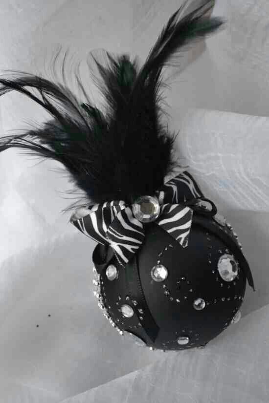 W sum zebra | Christmas ornaments, Black christmas tree ...
