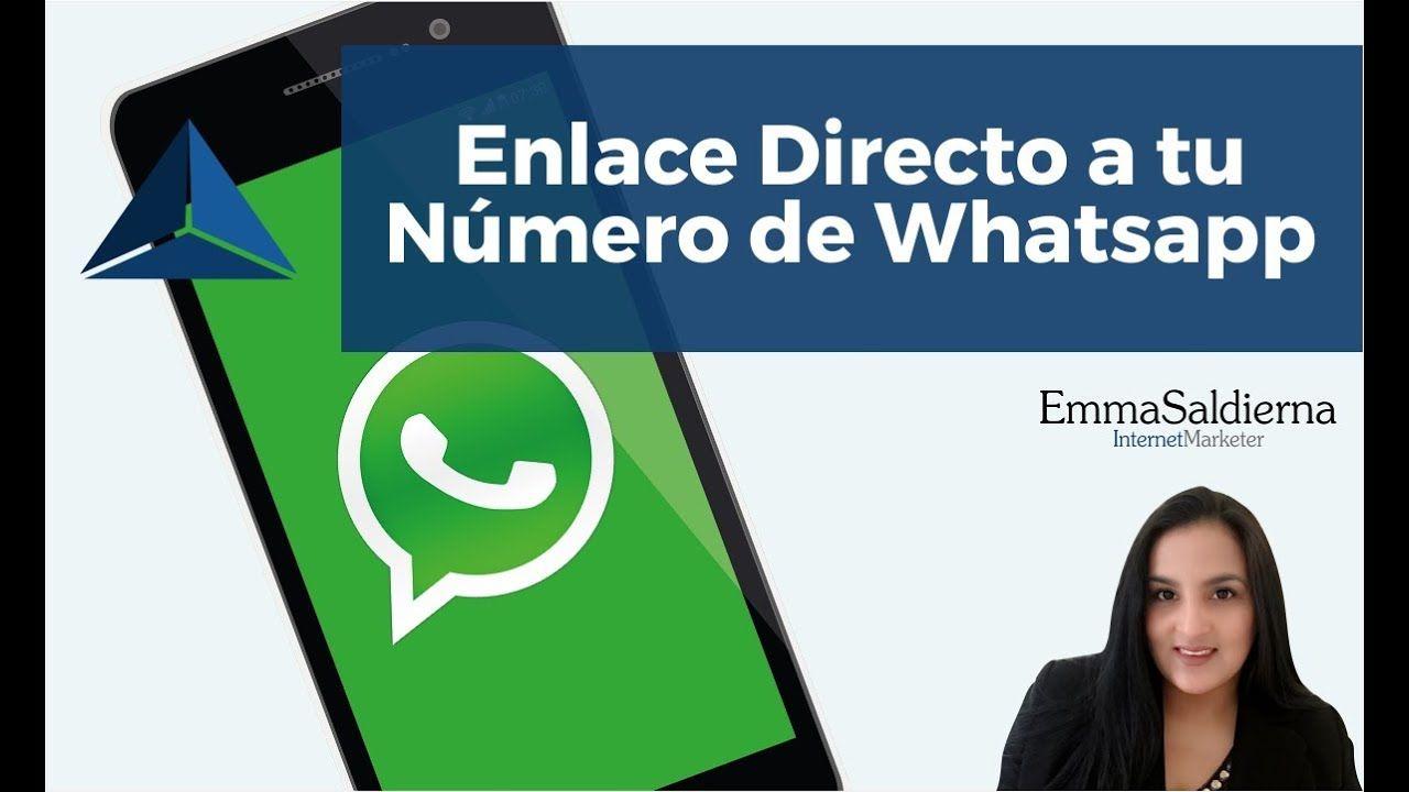 2 Formas de compartir tu número de WhatsApp a través de un