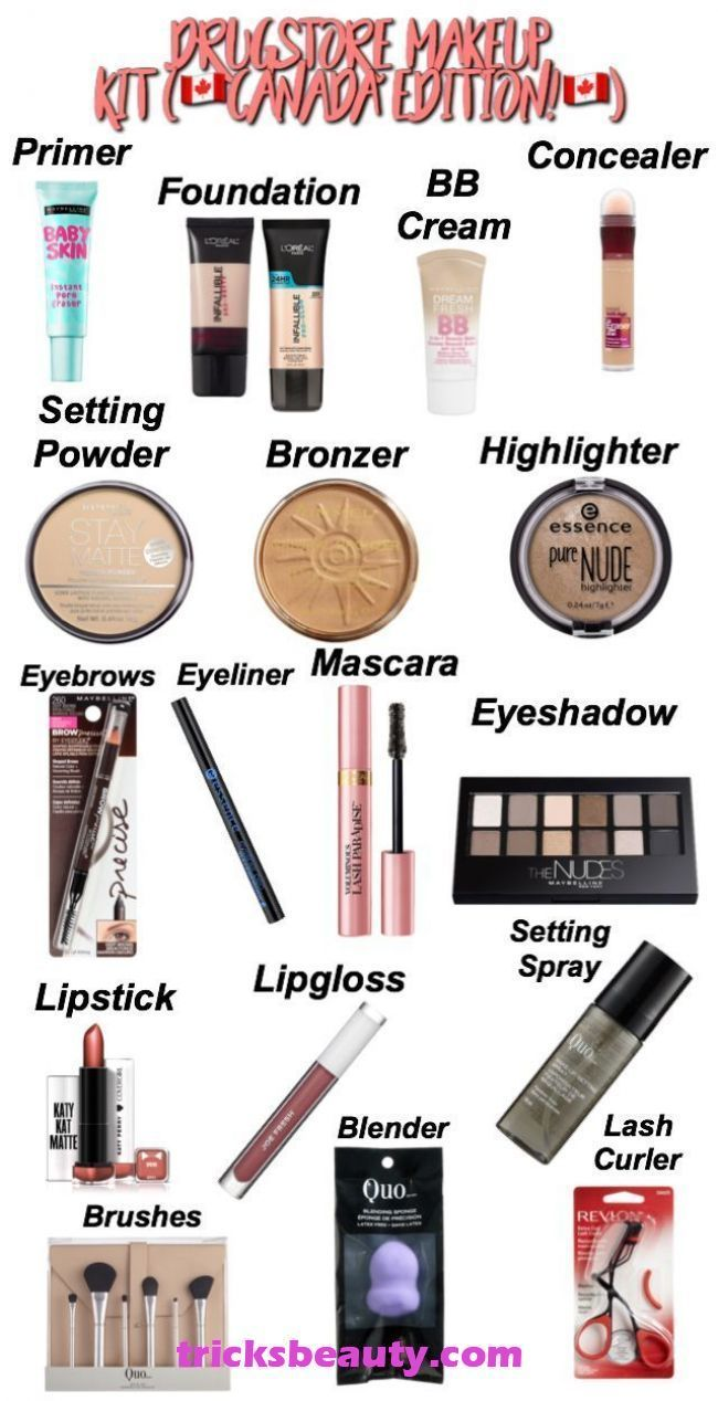 Tried And Tested Skin Care Tips Makeup kit, Beginner