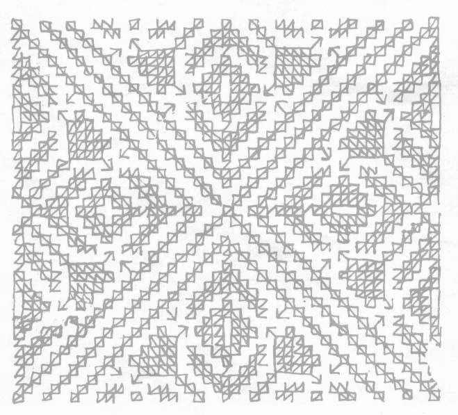 Diseños para bordar alfombras marroquíes Blackwork, Embroidery and