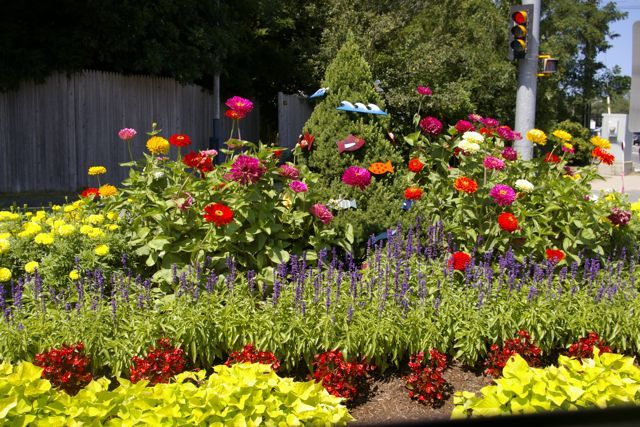 Small Annual Flower Bed Layouts Flower Beds Service