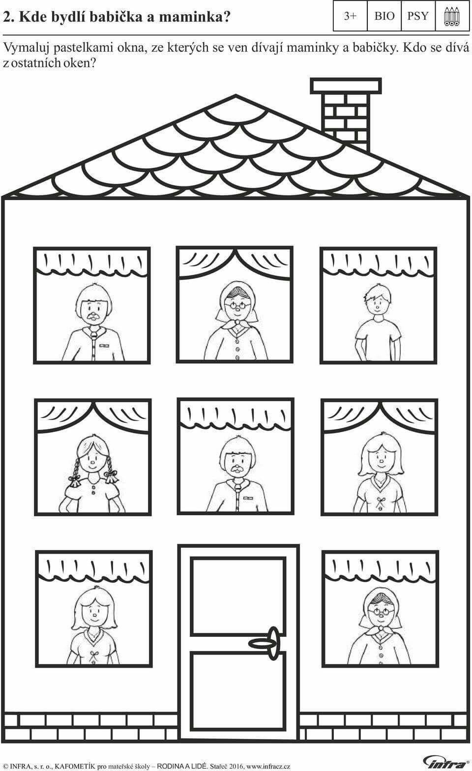 Pin By Leon On Kolorowanki Preschool Family Theme Family Theme Craft Work For Kids
